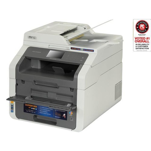 Brother MFC-9130CW LED Multifunction Printer - Color - Duplex - Copier/Fax/Printer/Scanner - 19 ppm Mono/19 ppm Color Print - 600 x 2400 dpi Print - 3.7