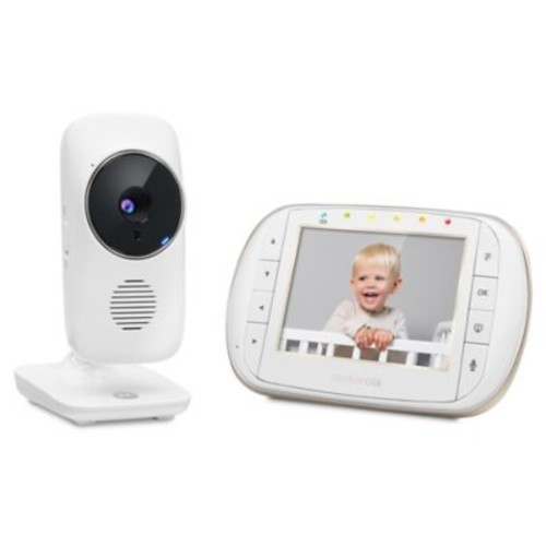 Motorola MBP668 3.5-Inch Smart WiFi Video Baby Monitor