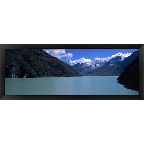 'Grande Dixence Dam, Valais Canton, Switzerland' Framed Panoramic Photo - Panoramic