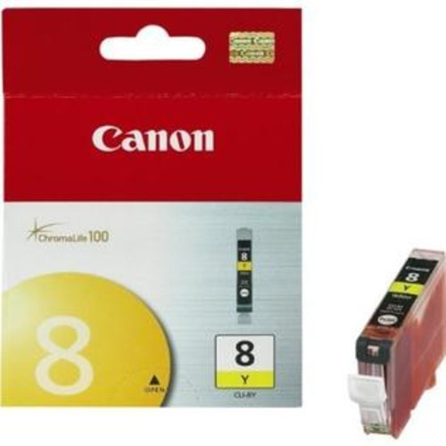 Canon INK CARTRIDGE, CLI-8, YELLOW, FOR