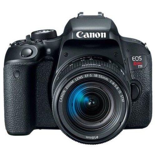 Canon EOS Rebel T7i DSLR with 18-55mm STM Lens With Canon Connect Station CS100