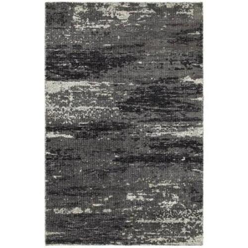 LR Resources Nisha Gray/Multi 8 ft. x 10 ft. Indoor Area Rug