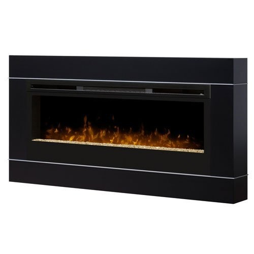 Dimplex DT1267BLK Cohesion Wall-Mounted Fireplace Surround , Black [Black]