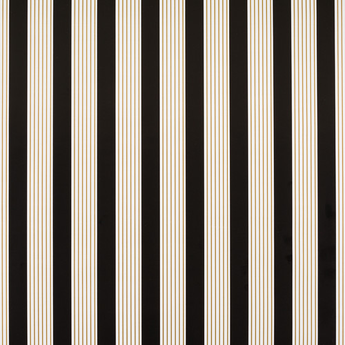 Black & Gold Stripes Wrapping Paper