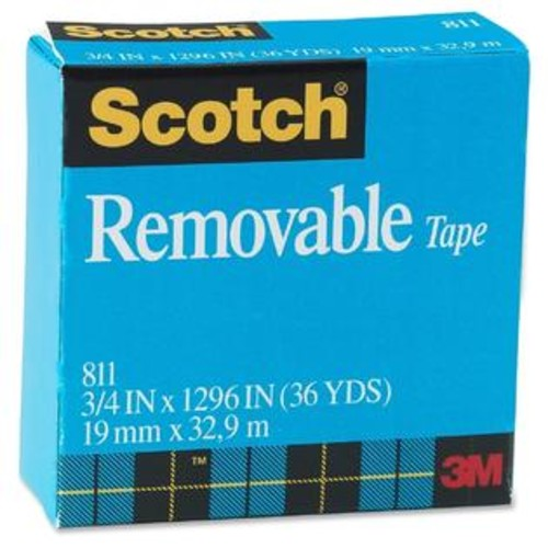 Scotch Removable Paper Tape - 1/RL