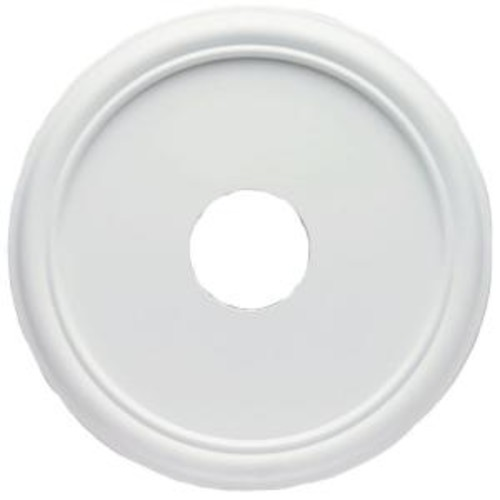 Westinghouse 16 in. Smooth White Finish Ceiling Medallion