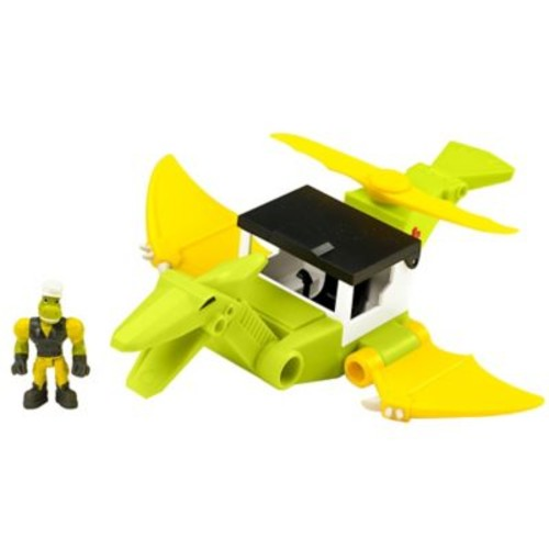 Educational Insights Dino Construction Company Rescue Crew Cyclone the Pteranodon Helicopter (4161)