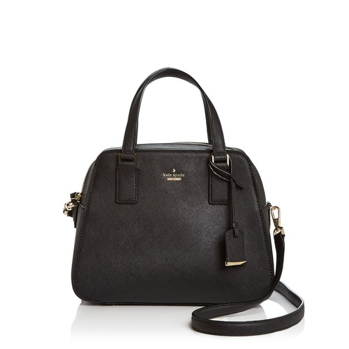 KATE SPADE NEW YORK Little Babe Saffiano Leather Satchel