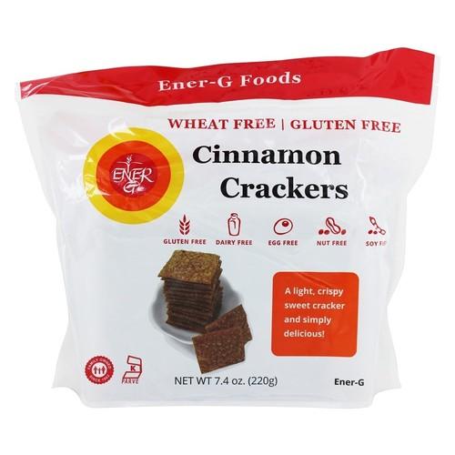 Gluten-Free Crackers Cinnamon - 7.4 oz.