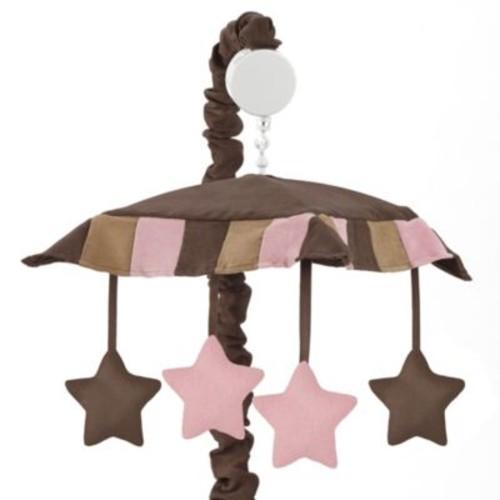 Sweet Jojo Designs Soho Musical Mobile in Pink/Brown