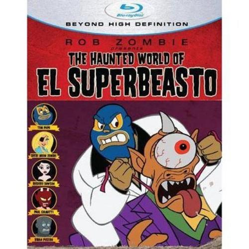 Haunted world of el superbeasto (Blu-ray)