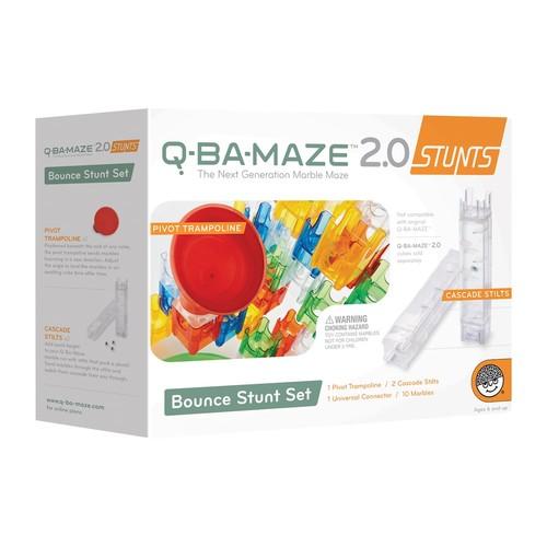 Q-BA-MAZE 2.0 Bounce Stunt Set
