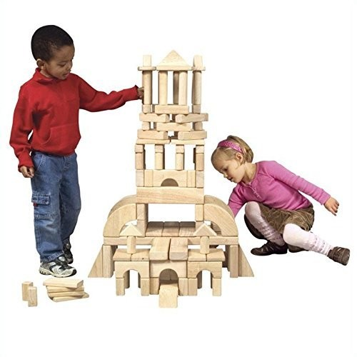 Guidecraft Usa GD-93404 Classroom Unit Blocks Building Kit (86 Piece)