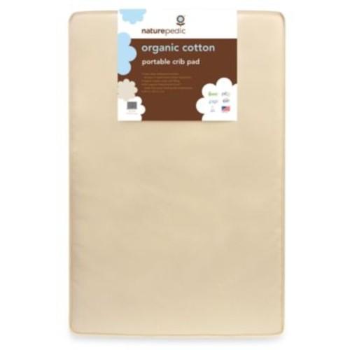 Naturepedic Portable Crib Mattress Pad