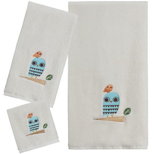Creative Bath Give A Hoot Bath Towels