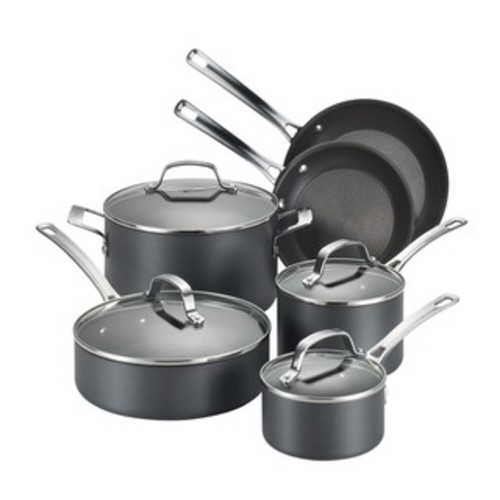 Circulon Genesis Hard-anodized Nonstick 9 1/4-inch and 10 3/4-inch 2-piece French Skillets