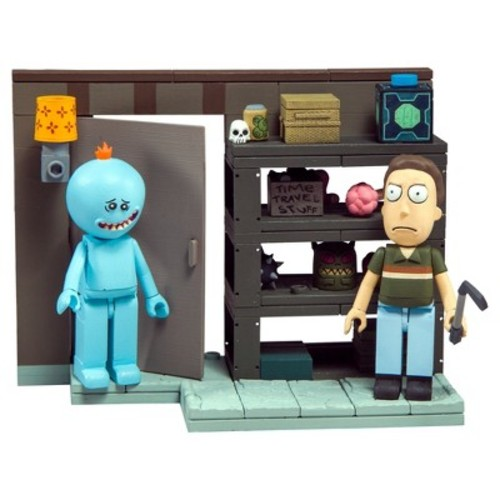 McFlarane Toys Rick & Morty Small Set Series 1 Construction Set - Smith Garage Rack