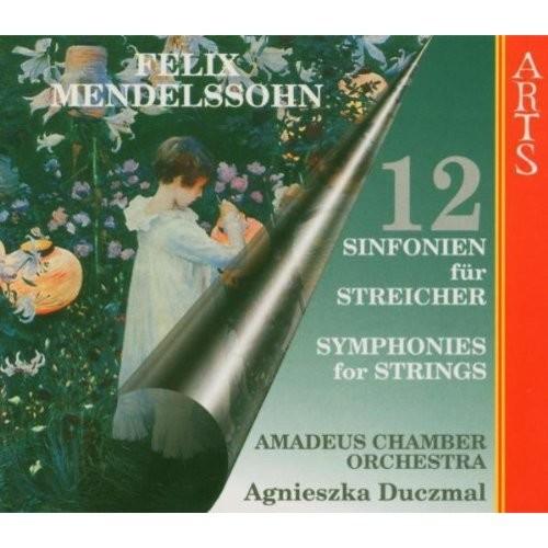 Mendelssohn: 12 Symphonies for Strings (Box Set) [CD]