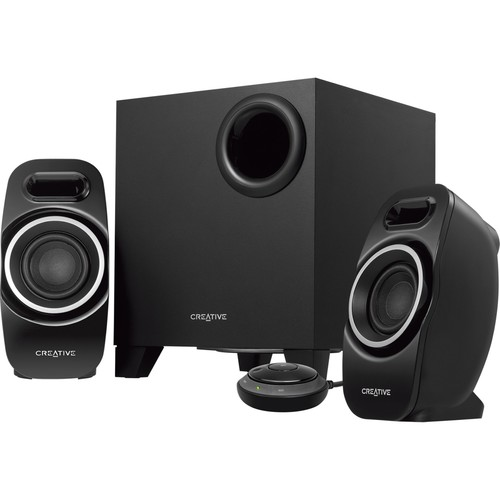 Creative Labs Speaker 51MF0450AA003-US T3250 Wireless 2.1 Bluetooth Speaker System Retail