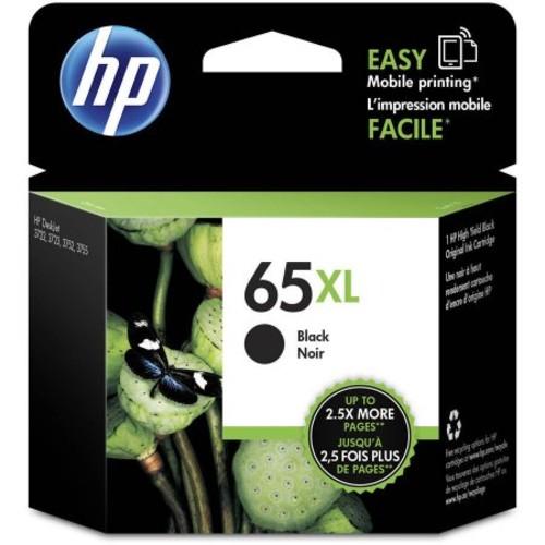 HP 65XL High-Yield Black Ink Cartridge (N9K04AN#140)