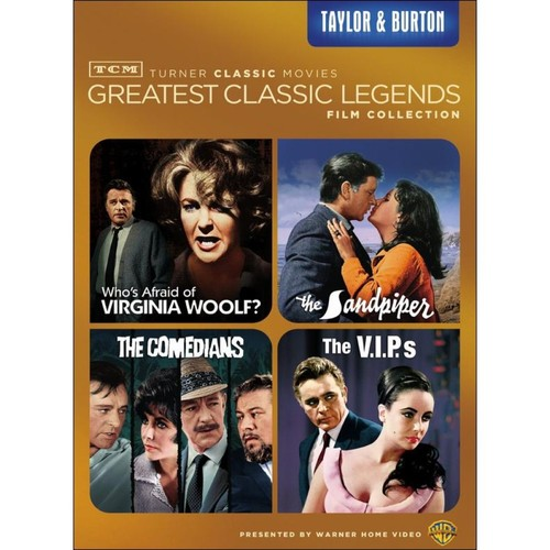 TCM Greatest Classic Legends Film Collection: Taylor & Burton [4 Discs] [DVD]