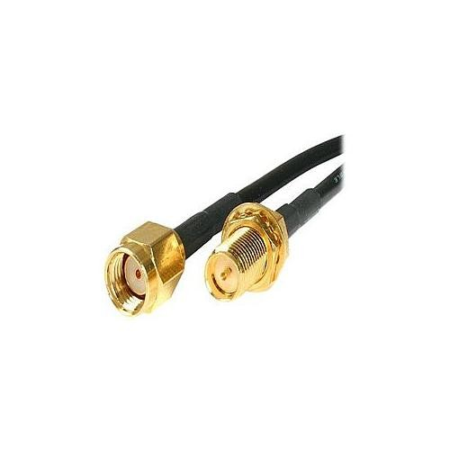 StarTech.com 10 feet RP-SMA to SMA Wireless Antenna Adapter Cable - M/F (RPSMA10MF)