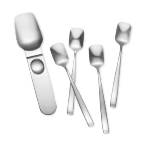 Yamazaki Stainless Steel Bolo 5-Pc. Ice Cream Set