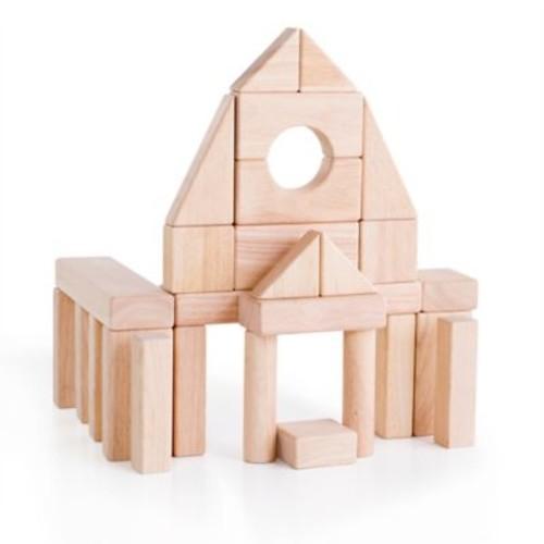 Guidecraft Set A 28-Piece Unit Block Set