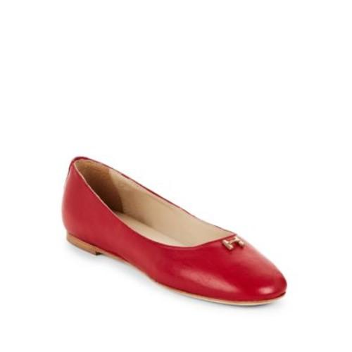 Halston Heritage - Halston Leather Ballet Flats