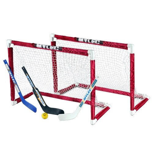 Mylec Deluxe Mini Hockey Goal Set