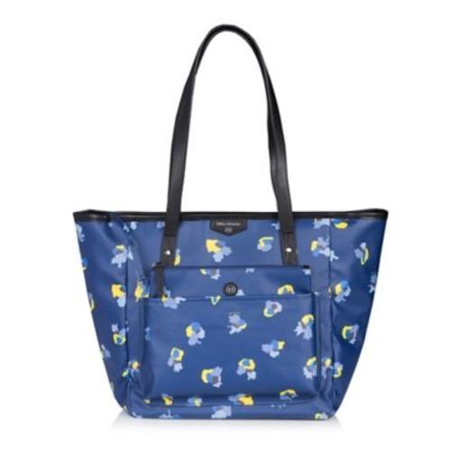 TWELVElittle Everyday Tote Plus Diaper Bag in Navy Floral