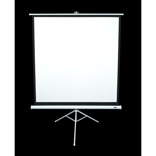 MaxWhite Tripod Series Tripod / Portable Pull Up Projector Screen - 71