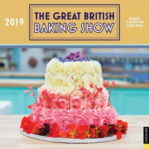 2019 Great British Baking Show Wall Calendar, The