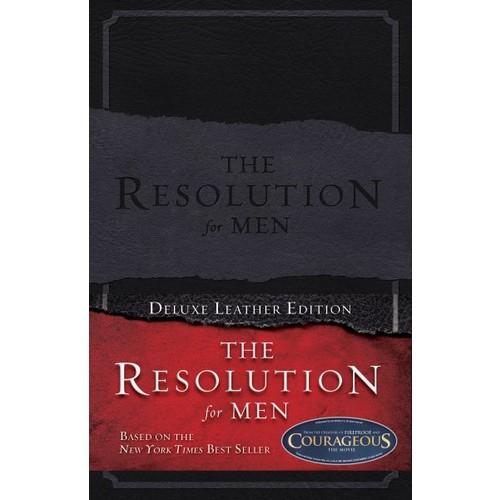 Stephen Kendrick; Alex Kendrick; Randy Alcorn The Resolution for Men, LeatherTouch