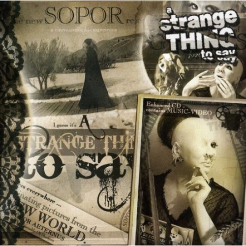 A Strange Thing To Say [CD]