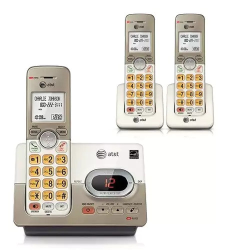 AT&T EL52313 DECT 6.0 Technology Cordless Phone W / Digital Answering System