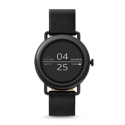 Skagen Connected Smartwatch - Falster Black Leather