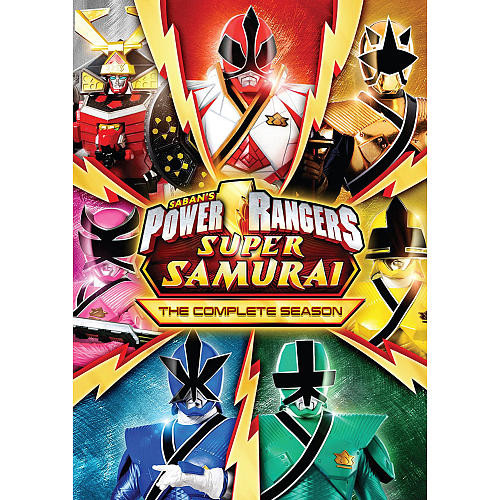 Power Rangers Super Samurai: The Complete Season 3 Disc DVD