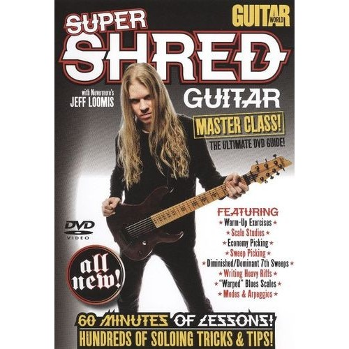 Guitar World: Super Shred Guitar - Master Class! [DVD] [English] [2009]