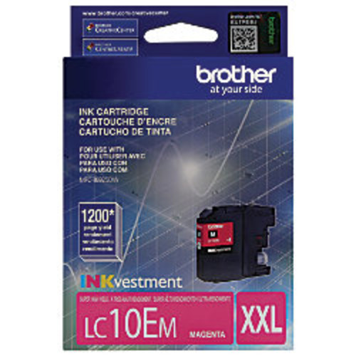 Brother LC10EM High-Yield Magenta Ink Cartridge