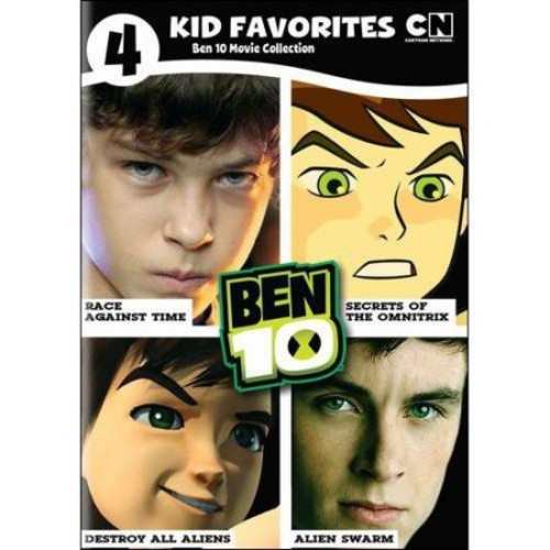 4 Kids Favorite: Ben 10 Movie Collection (DVD)
