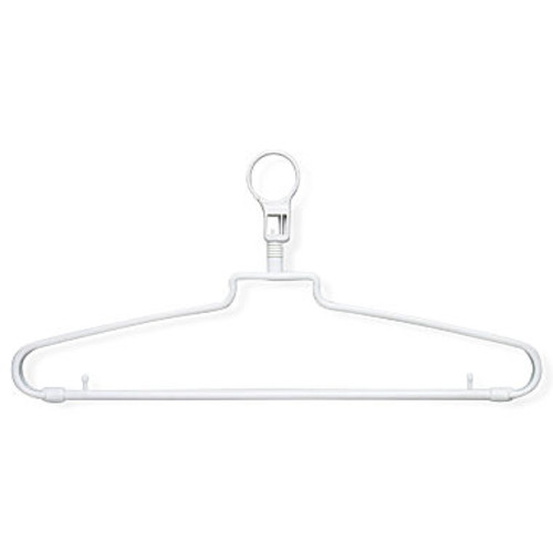 Honey-Can-Do HNG-01356 Hotel Hangers with Security Loop, 72-Pack [Hangers with Security Loop]