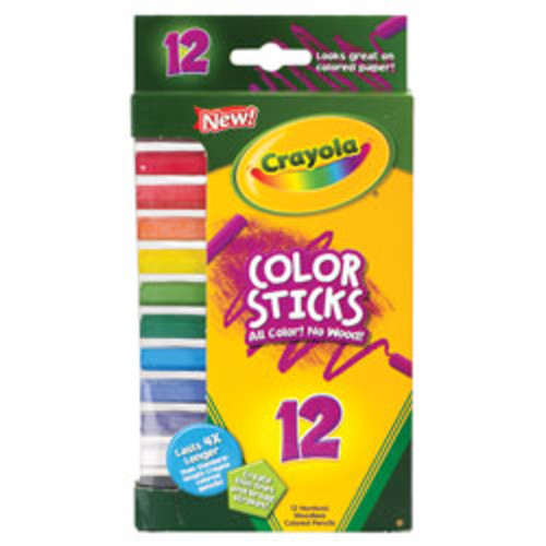 Crayola Color Sticks, Pack Of 12, Assorted Colors