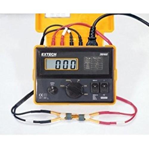 Extech 380462 Precision 220VAC Milliohm Meter [Standard]