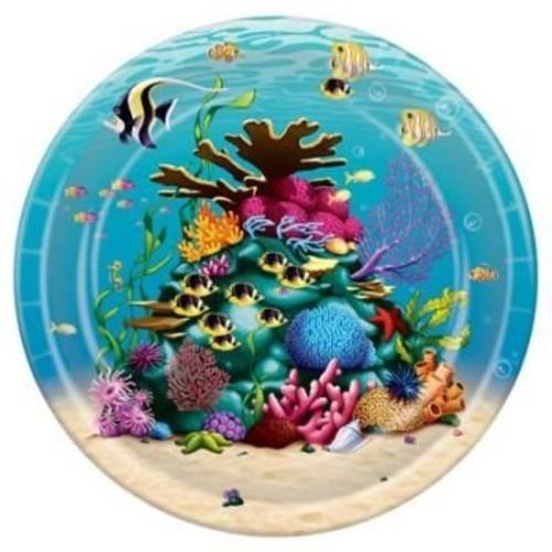 Under The Sea Plates (8/Pkg)