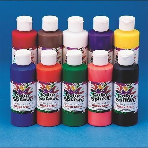Color Splash! Glass Stain 8 oz. (pack of 10)