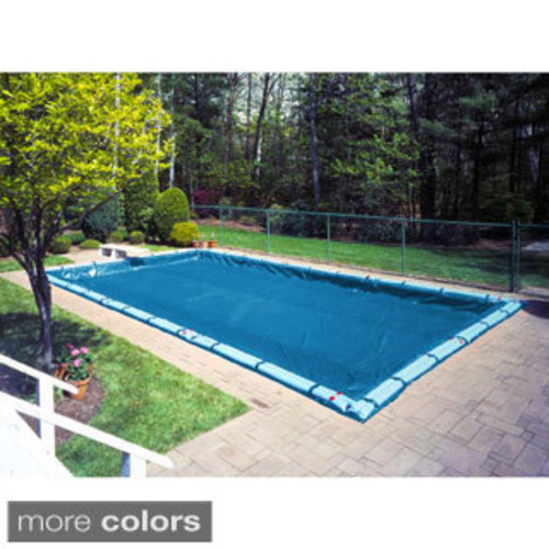 Blue Wave Gold Series Rectangular In Ground Winter Pool Cover [option : 25 ft x 45 ft]
