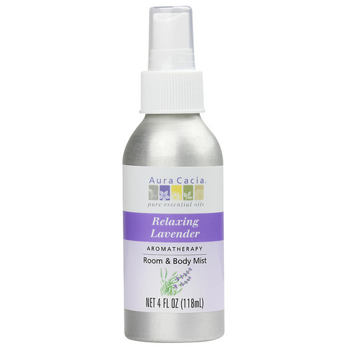 Aura Cacia Aromatherapy Room & Body Mist Lavender