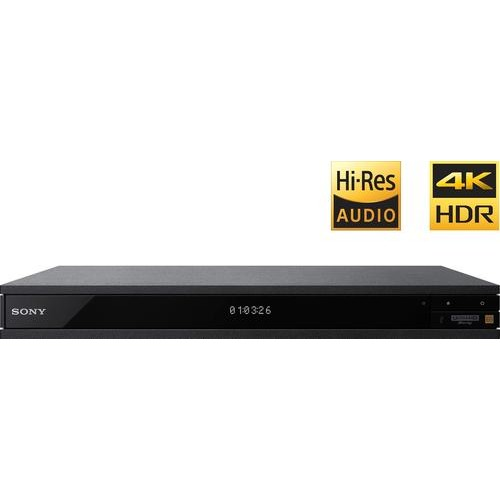 Sony - UBP-X1000ES - Streaming 4K Ultra HD 3D Wi-Fi Built-In Blu-Ray Player - Black