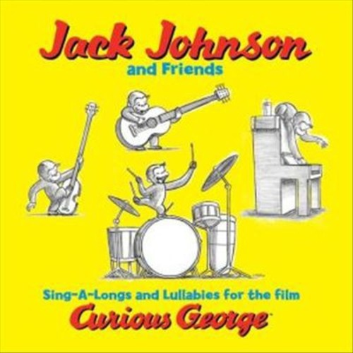 Sing-A-Longs and Lullabies for the Film Curious George [LP] - VINYL